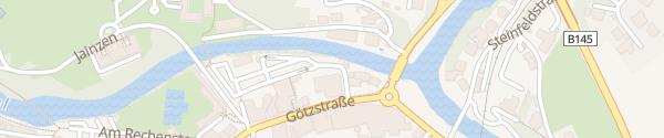 Karte Parkplatz Kaiservilla Bad Ischl