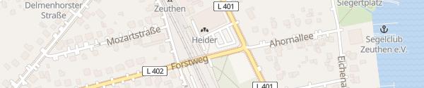Karte REWE Zeuthen