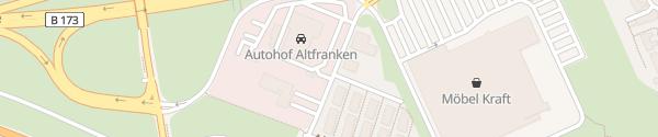 Karte Autohof Altfranken Dresden