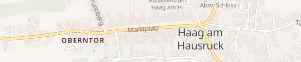 Karte Gemeindeamt Haag am Hausruck