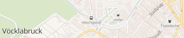 Karte Hotel Zum Auerhahn Vöcklabruck