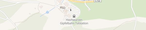 Karte E-Bike Ladesäule Gipfelbahn Hochwurzen Schladming