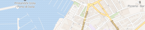 Karte Parkirišče Lonka Izola