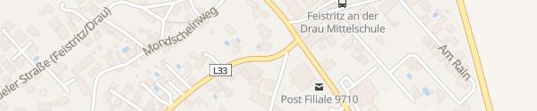 Karte Kelag Ladesäule am Feuerwehrhaus Feistritz an der Drau
