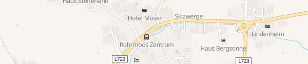 Karte E-Bike Ladesäule Erlebniswelt Rohrmoos Schladming