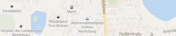 Karte Wohnmobilstellplatz Moritzburg