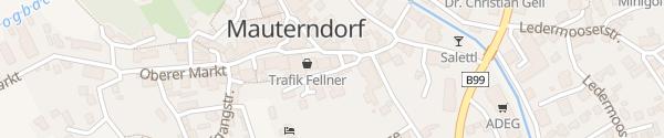 Karte Hotel Garni Binggl Mauterndorf