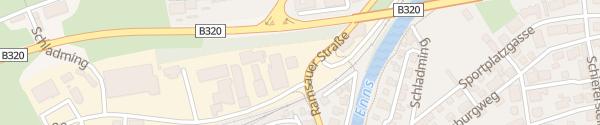 Karte Autohaus Erlbacher Schladming