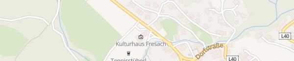 Karte Dorfstraße Fresach