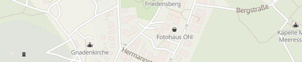 Karte Romantik ROEWERS Privathotel Ostseebad Sellin