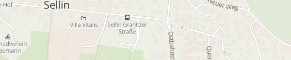 Karte Pension Villa Frohsinn Ostseebad Sellin