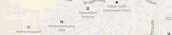 Karte Stadtsaal Radenthein