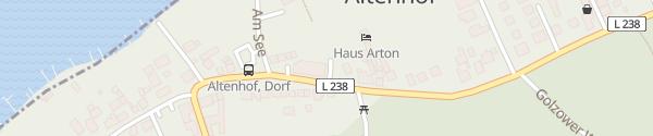 Karte Dorfladen Altenhof Schorfheide