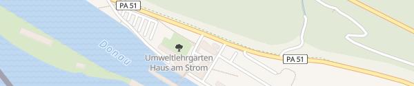 Karte E-Bike Ladesäule Haus am Strom Untergriesbach