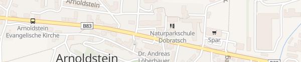 Karte Marktgemeinde Arnoldstein