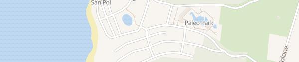 Karte Camping Mon Perin Bale