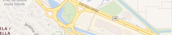 Karte PP Parkirišča Koper Koper
