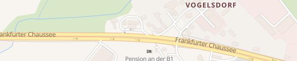 Karte star Fredersdorf-Vogelsdorf