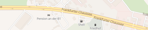 Karte HPC Shell Tankstelle Fredersdorf-Vogelsdorf