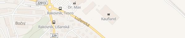 Karte Kaufland Rakovník