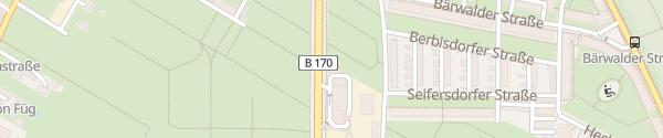 Karte Shell Hansastraße Dresden