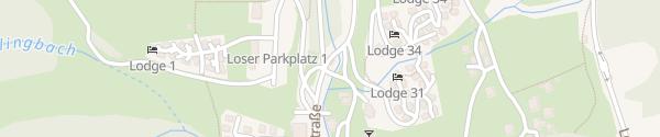 Karte Loser Point Altaussee