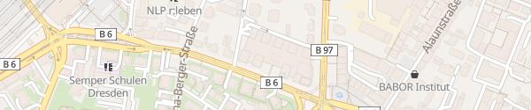 Karte EDEKA Simmel Center Dresden