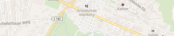 Karte Liftparkplatz Altenberg