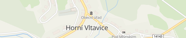 Karte Obecní úřad Horní Vltavice