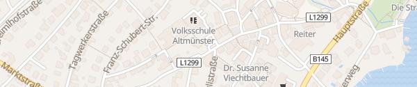 Karte Marktstraße Altmünster