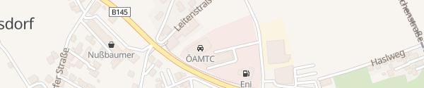 Karte ÖAMTC Stützpunkt Gmunden Pinsdorf