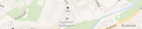 Karte Hotel Zlatá hvězda Vimperk