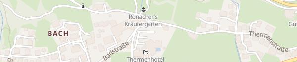 Karte Hotel Pulverer Bad Kleinkirchheim