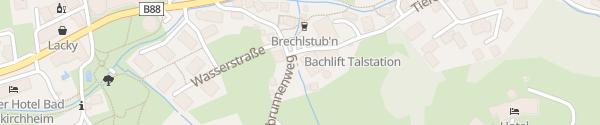 Karte Hotel Kärntnerhof Bad Kleinkirchheim