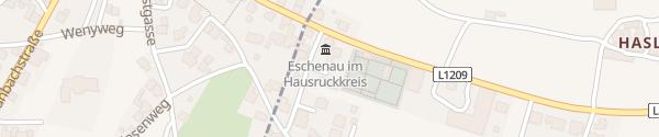 Karte Gemeindeamt Eschenau im Hausruckkreis