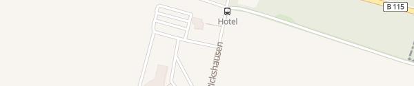 Karte Fastned Van der Valk Bersteland