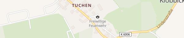 Karte Amt Biesenthal-Barnim Breydin OT Tuchen