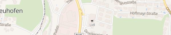 Karte Lidl Gmunden