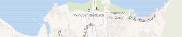 Karte Strandbad Ebensee