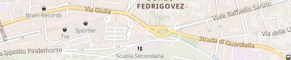 Karte Ladesäule Trieste