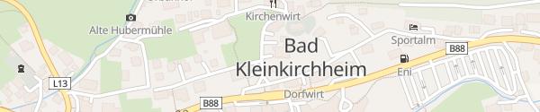 Karte Hotel Pragant Bad Kleinkirchheim
