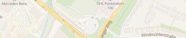Karte Park+Ride Prohlis Dresden