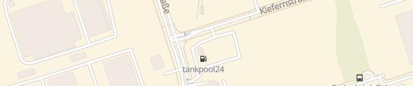 Karte Tesla Destination Charger Autohof Freienbrink Grünheide (Mark)