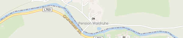 Karte Pension Waldruhe Bad Aussee