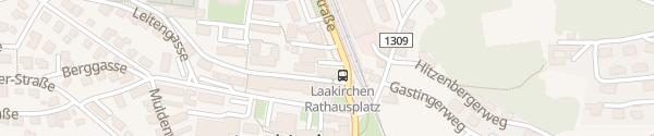 Karte Rathaus Laakirchen