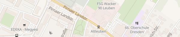 Karte Altleuben Dresden