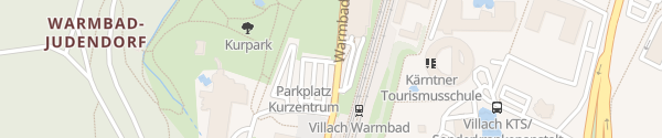 Karte Parkplatz Therme Villach Villach