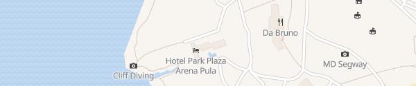 Karte Park Plaza Arena Pula