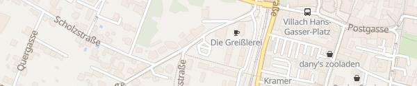 Karte Parkplatz Elite Villach