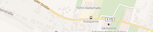 Karte Hotel Ausspann Heidenau